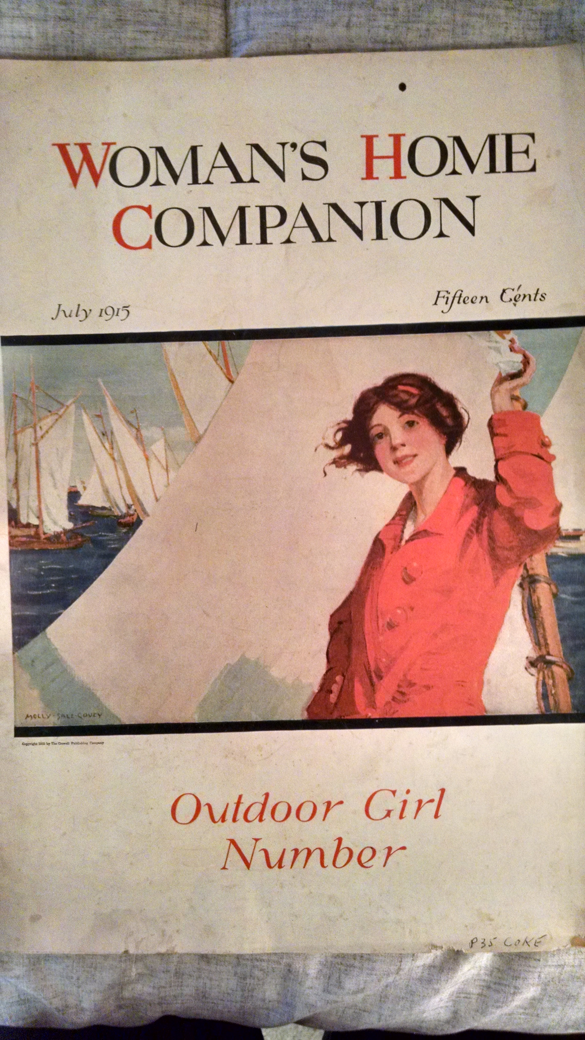 Image for WOMAN'S HOME COMPANION LJULY 1915  OUTDOOR GIRL NUMBER