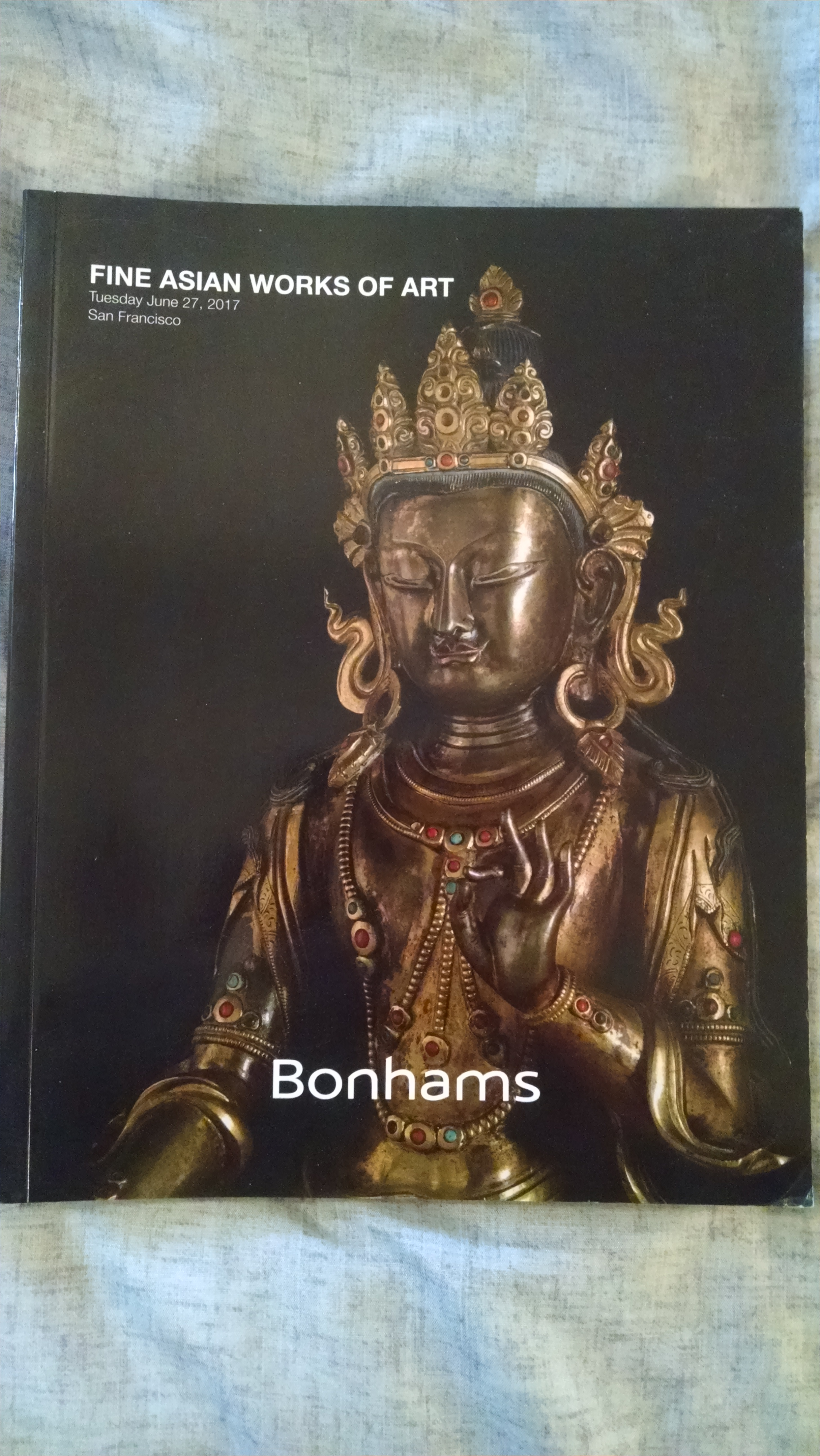 Image for BONHAMS AUCTION CATALOG    FINE ASIAN WORKS OF ART TUESDAY JUNE 27 2017