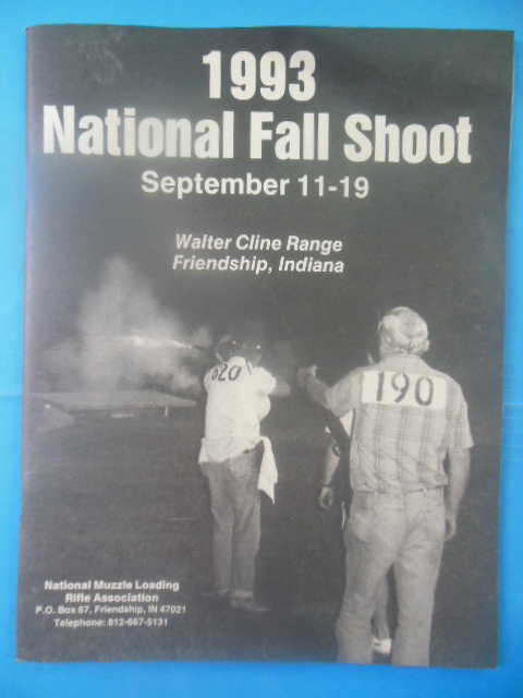 Image for 1993 National Fall Shoot September 11-19 (Walter Cline Range Friendship, Indiana)