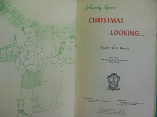 Image for Johnny Goes Christmas Looking (1963)