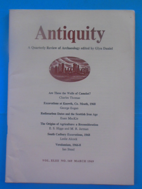 Image for Antiquity: A Quarterly Review of Archaeology MARCH (1969)