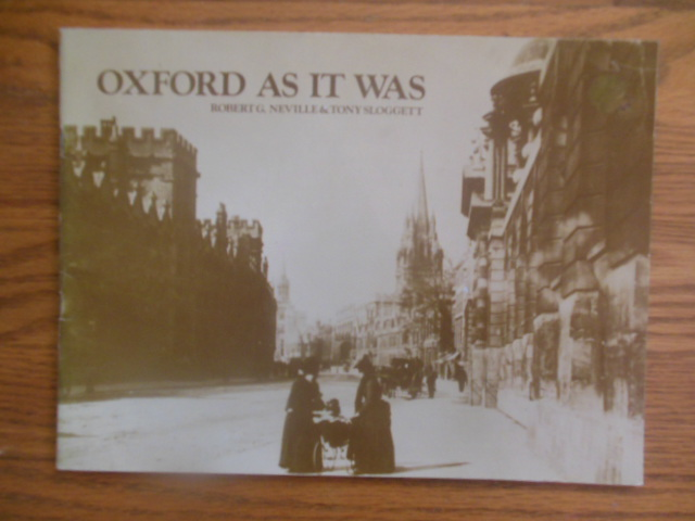 Image for Oxford As It Was 1979 (England)