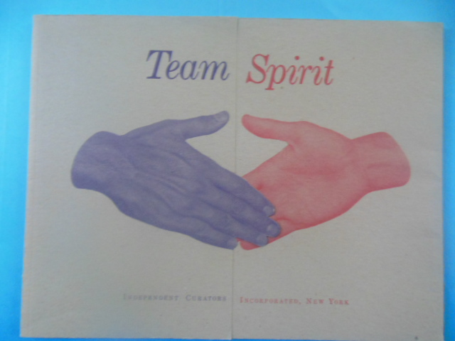 Image for Team Spirit. Independent Art Curators (1991)