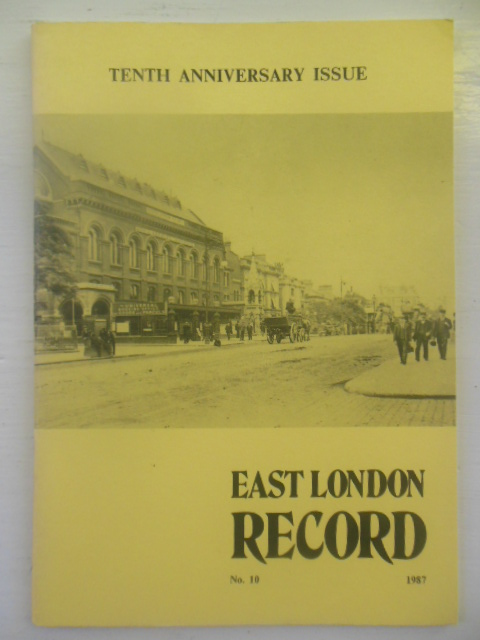 Image for East London Record Tenth Anniversary Issue (1987)