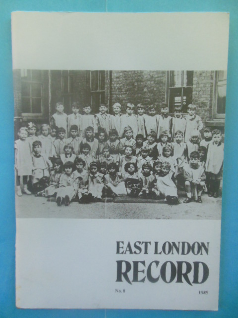 Image for East London Record Magazine, 1985 No. 8