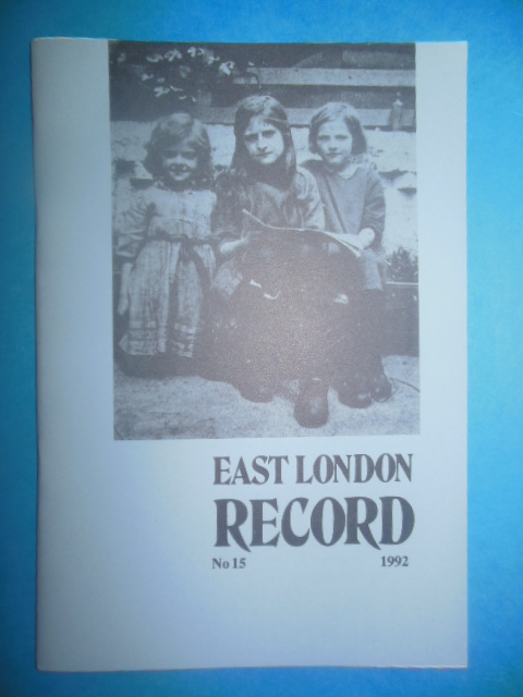 Image for East London Record, 1992 No. 15
