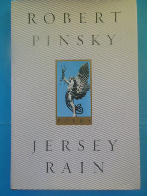 Image for Jersey Rain Poems by Robert Pinsky (2000)