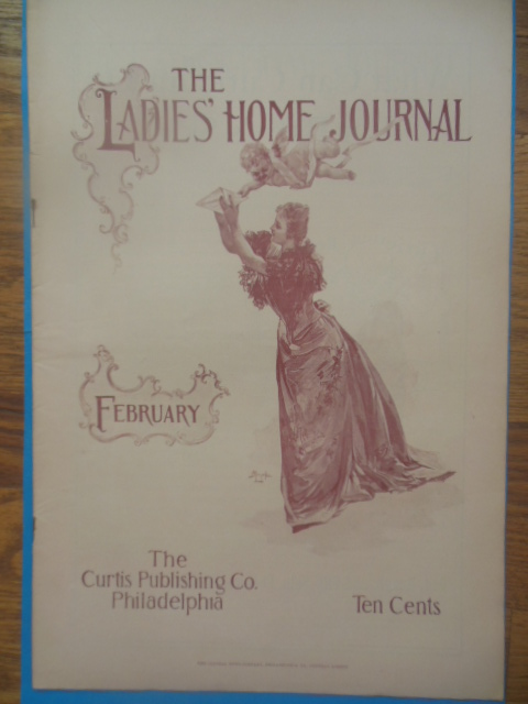 Image for Ladies Home Journal February, 1893 (William Dean Howell)