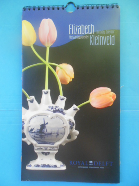 Image for Elizabeth Kleinveld Birthday Calendar (Perpetual, Unused)