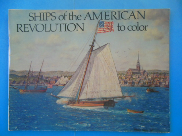 Image for Ships of the American Revolution to Color