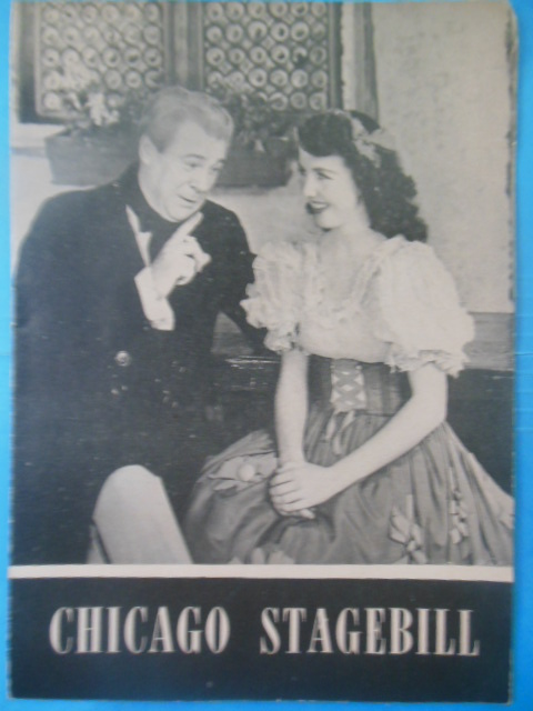 Image for Chicago Stagebill The Student Prince 1943