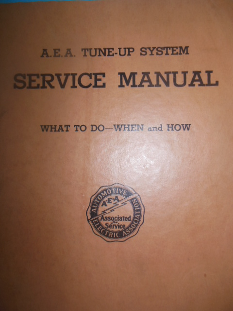 Image for Automotive Electric Association Tune-up System Service Manual (1935)