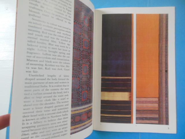 Image for The Splendour of India Silk; The Master Weavers, An Introduction to the  Handcrafted Textiles of India (2 booklets, 1980's)