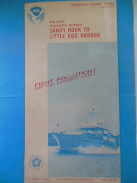 Image for Nautical Chart 12324 New Jersey Intracoastal Waterway Sandy Hook to Little Egg Harbor (1975)