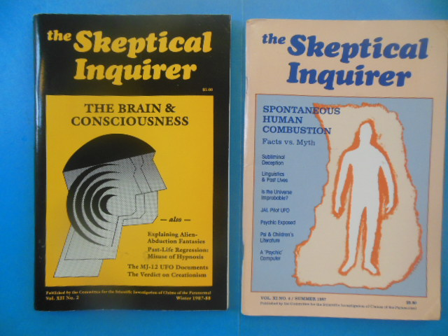 Image for The Skeptical Inquirer Journals (Summer, Winter 1987)