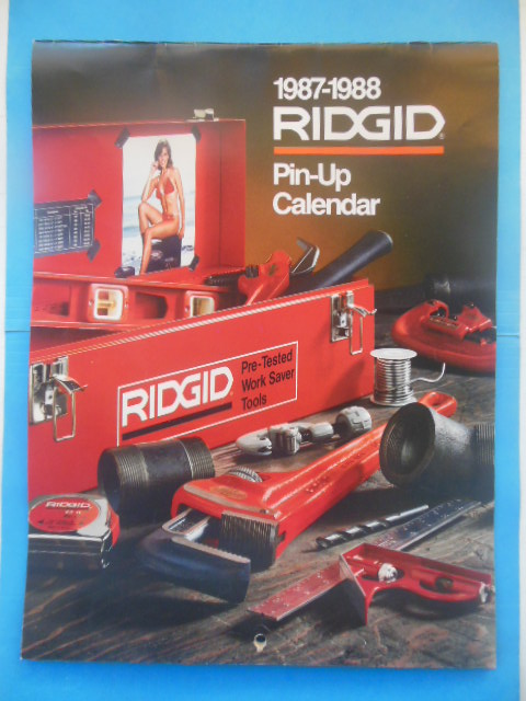 Image for 1987-88 Rigid Tool Company Pinup Calendar