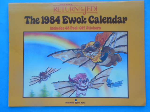 Image for The 1984 Ewok Calendar Includes 48 Peel-Off Stickers