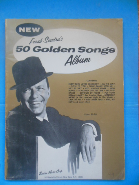 Image for Frank Sinatra's 50 Golden Songs Album (1966)