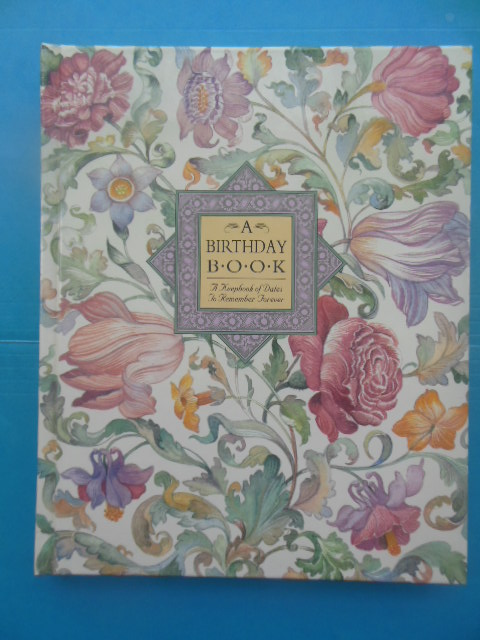 Image for A Birthday Book, A Keepbook of Dates to Remember Forever (1989)
