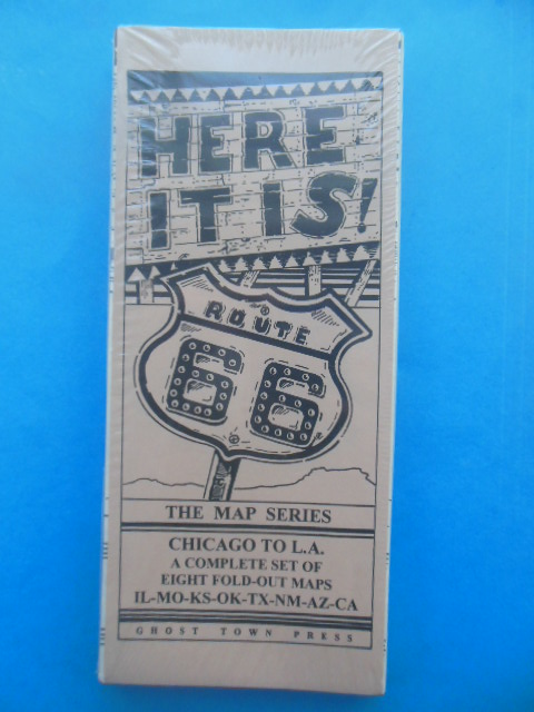 Image for Here It Is! Route 66 The Map Series (Eight Maps in BRand New Packaging)