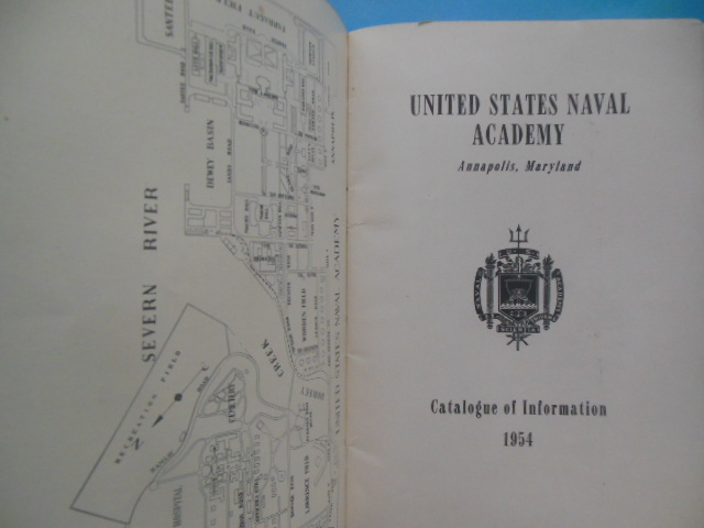 Image for United States Naval Academy Catalogue of Information 1954