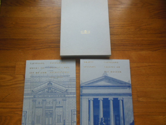 Image for Cleveland Builds An Art Museum 1884-1916; Cleveland Creates An Art Museum (2 vol. slipcase, 1991)
