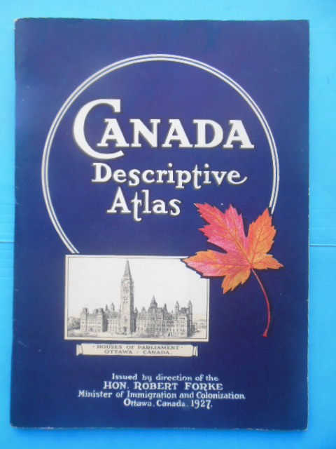 Image for Canada Descriptive Atlas (1927)