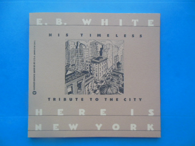 Image for Here Is New York by E.B. White (1988)
