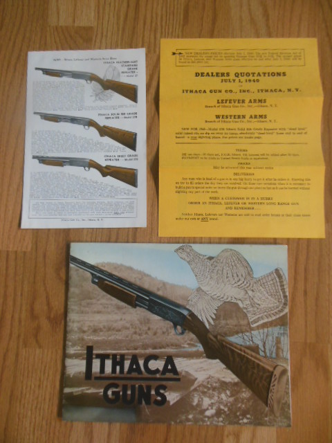 Image for Ithaca Gun Catalog 1939 (Ithaca, Lefever and Western Arms Guns)