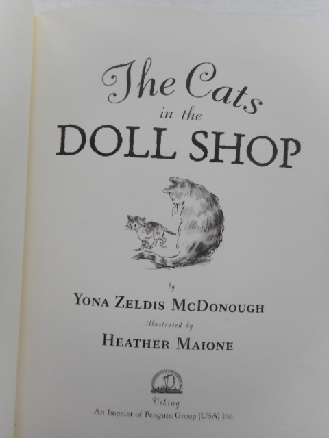 Image for The Cats in the Doll Shop