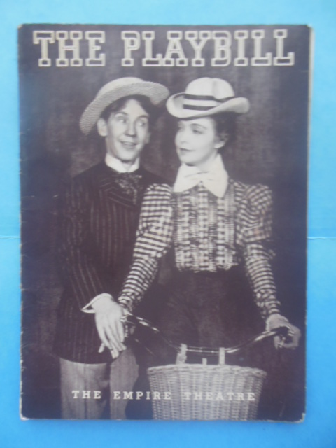 Image for Playbill The Star Wagon Burgess Meredith, Lillian Gish Emipire Theatre 1938