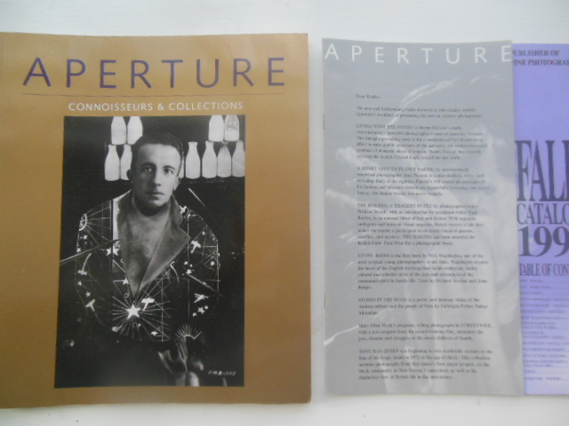 Image for Aperture Magazine Connoisseurs and Collections No. 124, Summer 1991