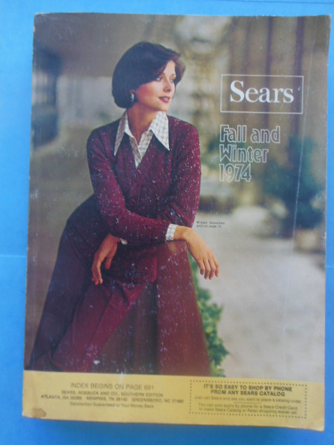 Sears Catalog Fall and Winter 1974