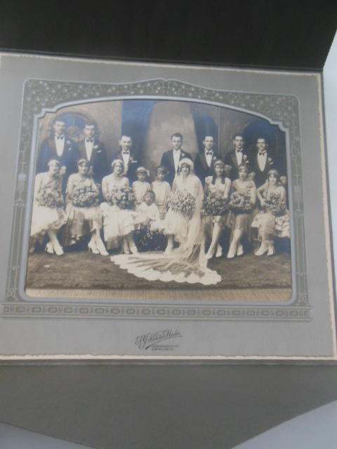 Image for Wedding Photograph 1920's Fashions, Big Wedding Party
