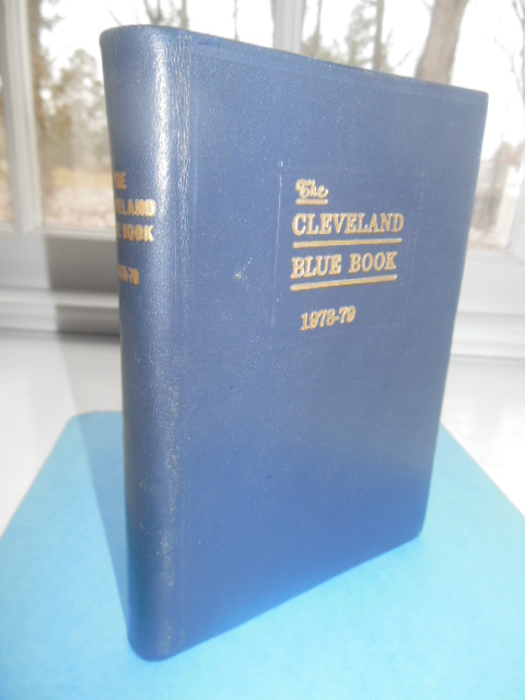 Image for The Cleveland Blue Book 1978-79