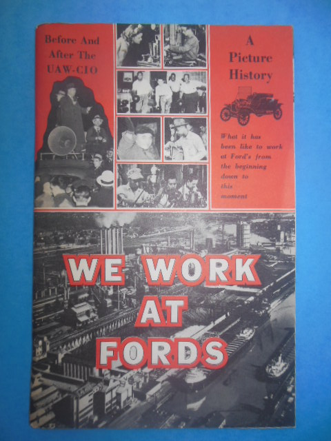 Image for We Work At Fords: Before and After the UAW-CIO (1955)