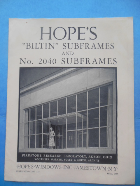 "Image for Hope's ""Biltin"" Subframes and No. 2040 Subframes (1949)"