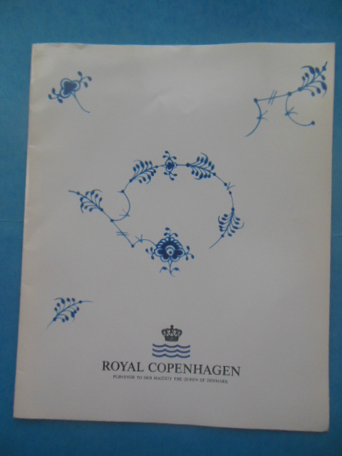 Image for Royal Copenhagen Purveyor of her Majesty the Queen of Denmark   1994-95 Catalog with Price List