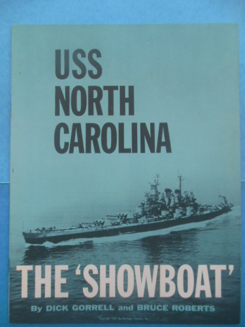 Image for USS North Carolina: The 'Showboat'  (1961)