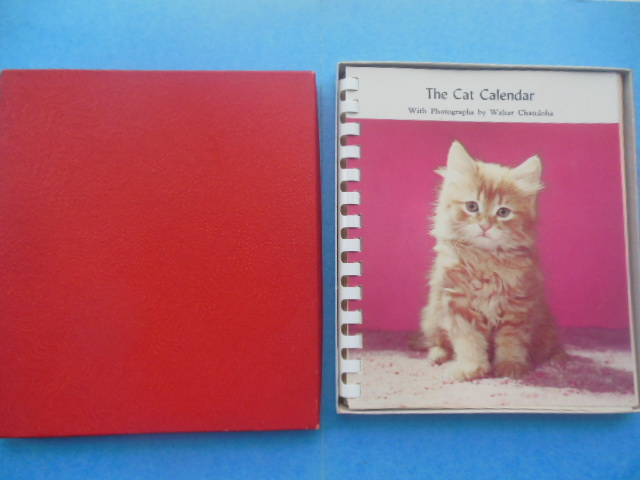 Image for The 1959 Cat Calendar With Photographs by Walter Chandoha (Unused In Original Box)
