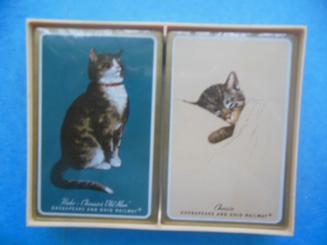 Image for Chessie and Peake Playing Cards in Original Plastic Box.