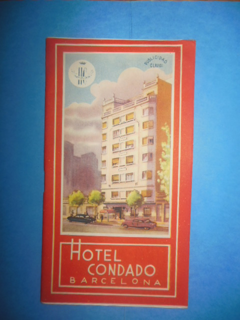 Image for Hotel Condado Barcelona, Spain Vintage Travel Brochure