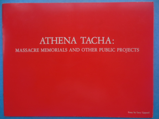 Image for Athena Tacha: Massacre Memorials And Other Public Projects (1984)