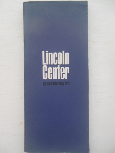 Image for Lincoln Center for the Performing Arts Inc. (Designed by Cipe Peneles 1964)