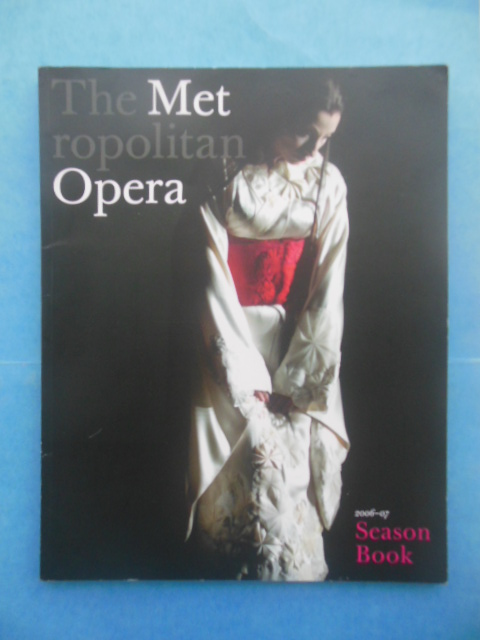 Image for The Metropolitan Opera 2006-07 Season Book