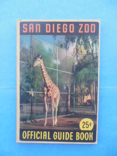 Image for San Diego Zoo Official Guide Books (1st Ed. 1944)