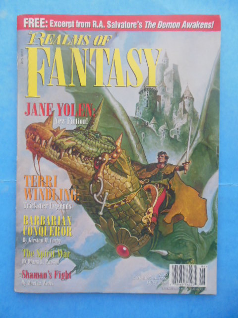 Image for Realms of Fantasy Magazine June, 1997