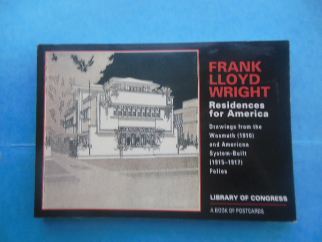 Image for Frank Lloyd Wright Residences for America A Book of Postcards
