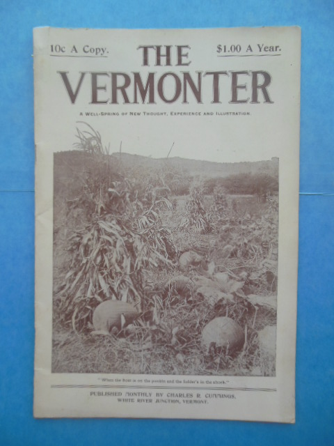 Image for The Vermonter: A Well-Spring of New Thought, Experience and Illustration (July-August, 1906)