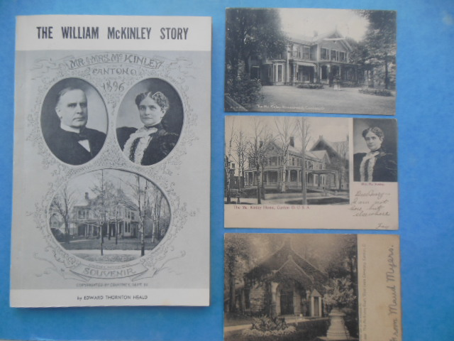 Image for The William McKinley Story (Three Vintage McKinley Postcards Laid-in)